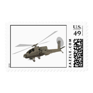 Apache AH-64 Stamps