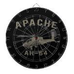 Apache AH-64 Tablero De Dardos
