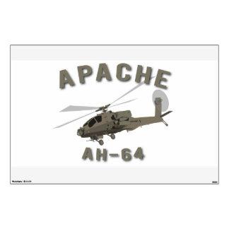 Apache AH-64 Vinilo Adhesivo