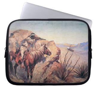 Apache Ambush (oil on canvas) Laptop Sleeve