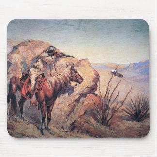 Apache Ambush (oil on canvas) Mouse Pad