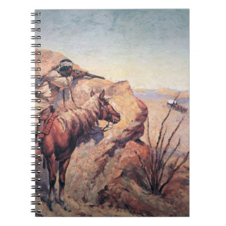 Apache Ambush (oil on canvas) Notebooks