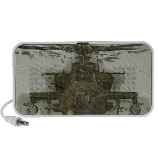 Apache Attack Helicopter Portable Speaker