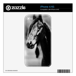Apache black stallion decals for the iPhone 4