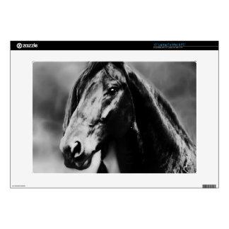 Apache black stallion decal for laptop