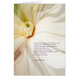 Apache Blessing Magnolia Greeting Card