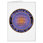 Apache Blessing notecard Greeting Card