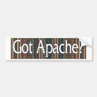 Apache Pegatina De Parachoque