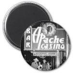 Apache Casino & Bar Vintage Las Vegas Photo Fridge Magnets