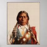 Apache Chief James A. Garfield. Poster