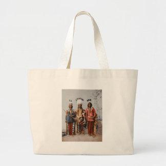 Apache Chiefs Garfield Ouche Te Foya 1899 Canvas Bag