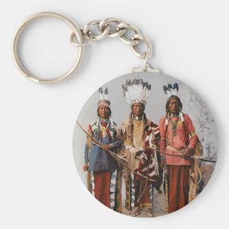 Apache Chiefs Garfield Ouche Te Foya 1899 Key Chain