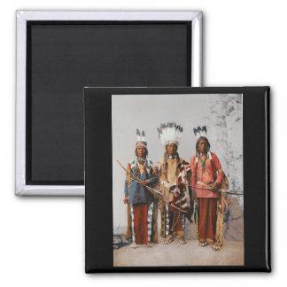 Apache Chiefs Garfield Ouche Te Foya 1899 Magnet