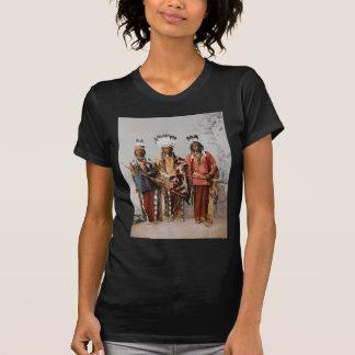 Apache Chiefs Garfield Ouche Te Foya 1899 T Shirt