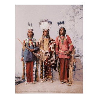 Apache Chiefs Garfield, Ouche-te Foya and Sanches. Poster
