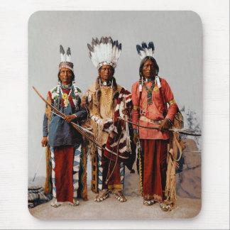 Apache chiefs mouse pad