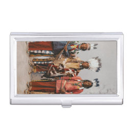 Native american business card holders cases zazzle apache chiefs vintage native americans case for business cards colourmoves Choice Image