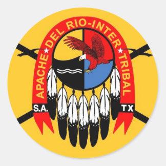 Apache_Del_Rio[1] Classic Round Sticker