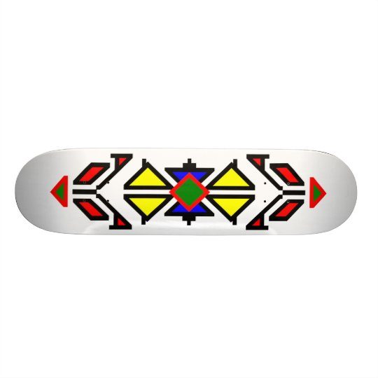 Apache Design Skateboard Deck