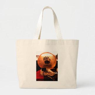 Apache Drum Large Tote Bag
