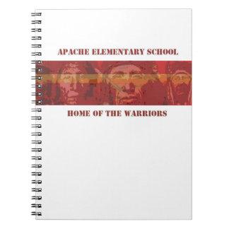 Apache Elementary School Spiral Note Book