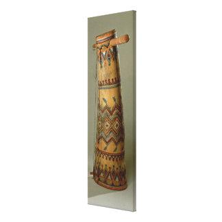 Apache fiddle, from Arizona Canvas Print