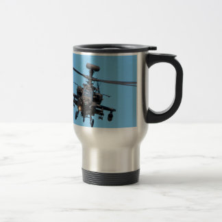 Apache Helicopter 15 Oz Stainless Steel Travel Mug