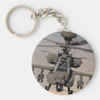 Apache Helicopter Air Wings Destiny Basic Round Button Keychain