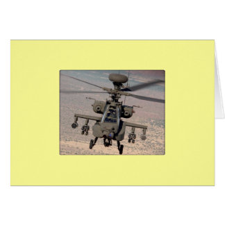 Apache Helicopter Air Wings Destiny Card