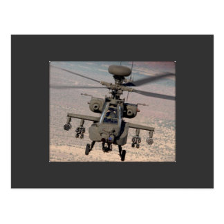 Apache Helicopter Air Wings Destiny Post Cards