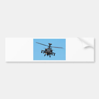 Apache Helicopter Bumper Sticker