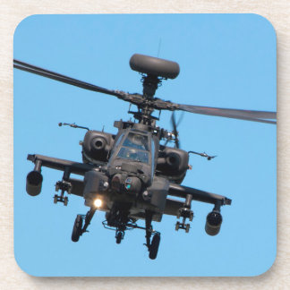 Apache Helicopter Drink Coaster