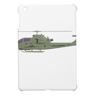 Apache helicopter in side view profile iPad mini cover