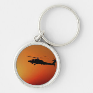 Apache Helicopter Keychain