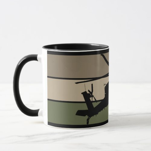 Apache Helicopter Mug