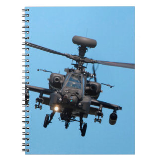 Apache Helicopter Notebooks