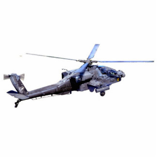 Apache Helicopter Photo Cut Outs