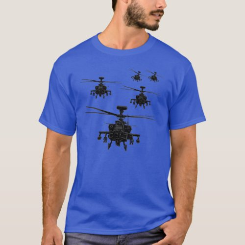 Apache helicopter T_Shirt