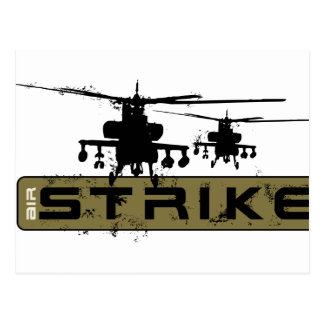 Apache Helicopters Postcard