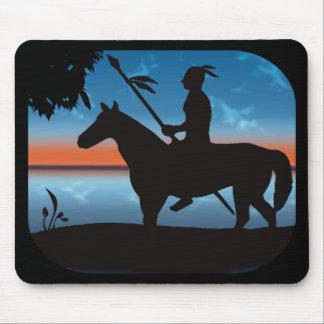 Apache Hunter Mouse Pad