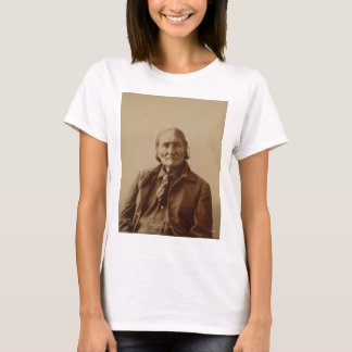 Apache Indian Leader Geronimo by Adolph F. Muhr T-Shirt