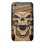 Apache Indian Skull iPhone 3 Case