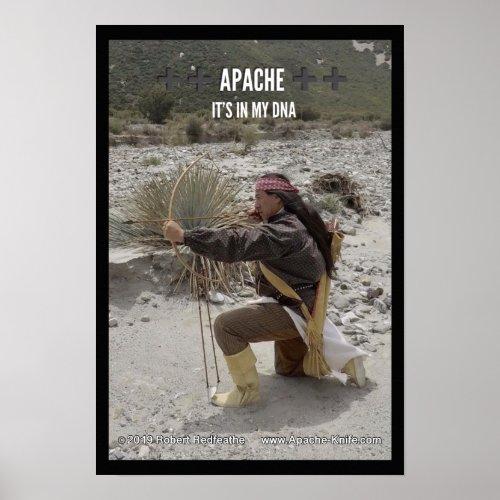 Apache Knifeâ Apache DNA Poster