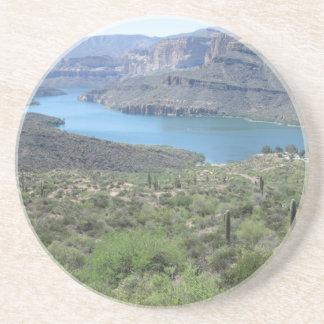 Apache Lake View Drink Coaster