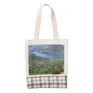 Apache Lake View Zazzle HEART Tote Bag