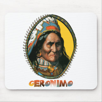 Apache leader Geronimo Mouse Mats