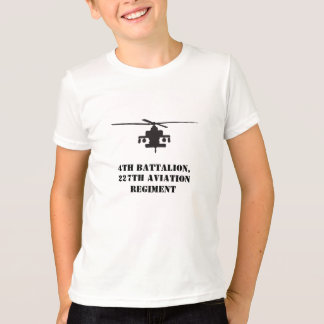 Apache Longbow Helicopter Silhouette T-Shirt