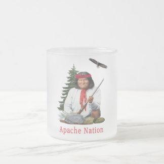 Apache Nation Frosted Glass Coffee Mug