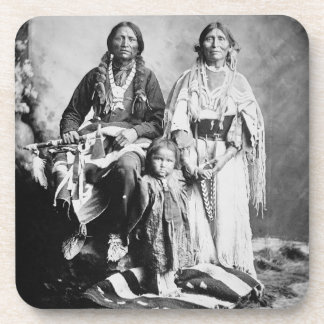 Apache principal Antonio Maria con su familia, 189 Posavaso
