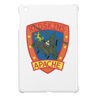 APACHE Redskins Sq - Helicopter - Patches Cover For The iPad Mini